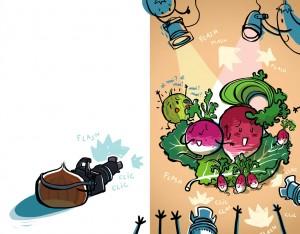 Melon guest star ! Élice