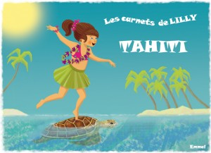 Lilly à Tahiti
