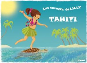 Lilly à Tahiti