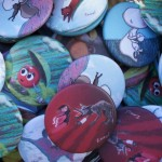 Illus Emmel - Badges mats