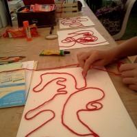 """Atelier """"Le chemin du fil rouge """""""