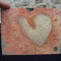 Coeur empreinte / Emmel