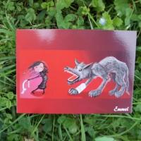 Le loup et la petite fille / Emmel