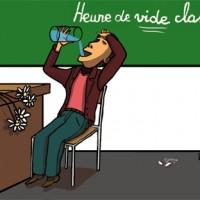 Heure de vide classe