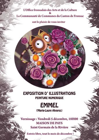 Affiche expo Emmel