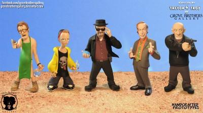 Figurines Breaking Bad