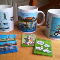 Mugs et magnets MEB
