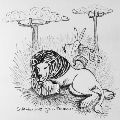 Inktober 2019 - J21- Treasure - Emmel