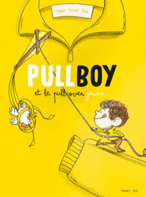 PULLBOY et le pull-over jaune